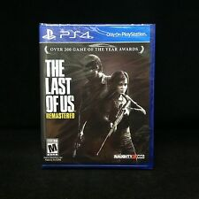 The Last of Us Remastered (PS4) PlayStation 4 BRAND NEW