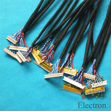 18pcs/set Universal HD LVDS Cable for LCD Monitor Screen Support 14''-26'' Panel
