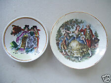 """Lot 2 One 5"""" Royal China & One Signed 4"""" Made In China Coin Dish"""