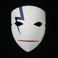 New Darker Than Black Hei Resin Mask Angry Cosplay Props Halloween Party