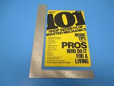 Vintage Motor 101 Shop Secrets Of Master Mechanics Tips From Pros 66 pgs. S2328