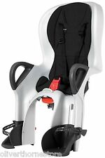 Peg Perego 10+ Black / White Rear Mount Bicycle Bike Child Seat NEW