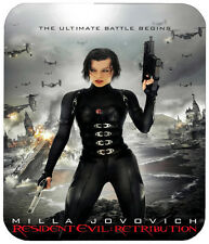 RESIDENT EVIL RETRIBUTION MOUSE PAD 1/4 IN. HORROR MOVIE MOUSEPAD
