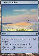 2x Lonely Sandbar (Einsame Sandbank) Commander 2013 Magic