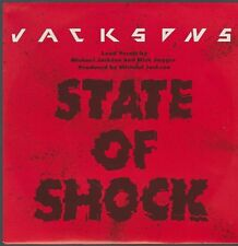 "7"" Jacksons State Of Shock (Michael Jackson, Mick Jagger) / Your Ways 80`s Epic"