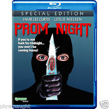 PROM NIGHT BLU-RAY - HORROR - JAMIE LEE CURTIS - LESLIE NIELSON - AUTHENTIC US