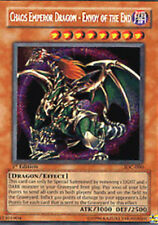 Yugioh Chaos Emperor Dragon - Envoy of the End IOC-000 Unlimited Secret Played