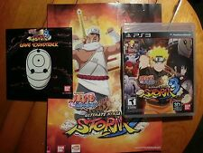 Naruto Shippuden:Ultimate Ninja Storm 3 DLC, Soundtrack, Poster Edition PS3. New