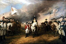 "13x19 Reprint Art Poster: ""Surrender of Lord Cornwallis"" at Yorktown, Virginia"