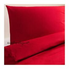 IKEA Dvala Red Twin Duvet Quilt Cover Pillowcase Dvala Twin size - New sealed