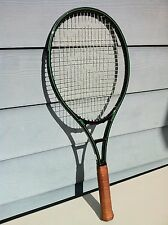 Glossy 4-5/8 POG 1-Stripe Prince Graphite 110 Tennis Racquet Agassi Chang racket