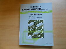 Comple-taller de manual de mapas de carreteras Toyota Land Cruiser Station Wagon' 03