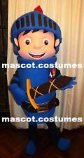 "New Mike the knight Mascot Costume Character Sz. 5' 9"" Professional"