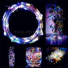 USB Connector String Fairy Lights 10M 33ft 100 Led Garland Copper Wire Wedding
