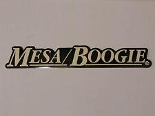 MESA BOOGIE GUITAR AMP BASS AMP DECAL STICKER CASE RACK BUMPER STICKER NICE NEW