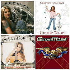 4 Gretchen Wilson CD lot NEW Right On Time,Christmas,Snapshot,I Got Your Country