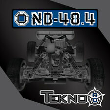 Tekno NB48.4 Nitro Buggy Pro Build Kit 1/8 Competition Race 4wd NB48 4 TKR8300