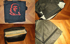 "Che Guevara DJ vinyl records shoulder carrying bag case 12"" LP Maxi singles"