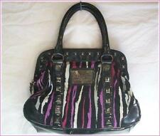 BETSEYVILLE by Betsey Johnson Animal Print Satchel Hand Bag  Colorful