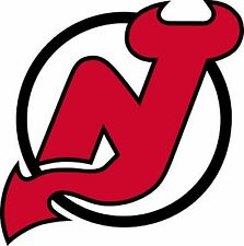 NEW JERSEY DEVILS Logo ~ Window WALL DECAL * Vinyl Car STICKER ~ ANY COLORS
