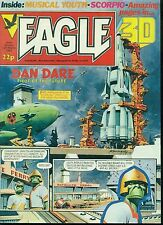 EAGLE weekly British comic book March 12 1983 VG+ 3-D issue (no glasses)