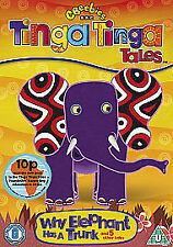 TINGA TINGA TALES WHY THE ELEPHANT HAS A TRUNK DVD KIDS 6 EPISODES