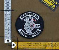 "Ricamata / Embroidered Patch ""Blackwater Afghanistan IC"" with VELCRO® brand hook"