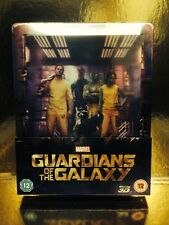 STEELBOOK Blu-Ray Gardians Of The Galaxy  [ Limitee 4000 Ex ] 2D/3D