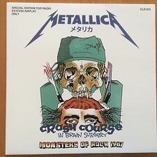 Metallica Monsters of Rock Pforzheim 1987 rare green vinyl LP