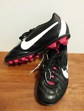 NEW Nike Jr Kids Tiempo Rio FG-R Soccer Cleats Girls Size 3Y
