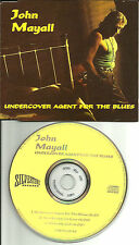 JOHN MAYALL Undercover agent 3 TRK SAMPLER UK Made PROMO DJ CD Single USA SELLER