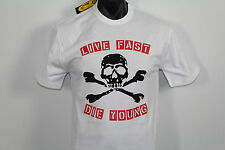 NEW HAZE T-SHIRTS LIVE FAST DIE YOUNG SIZE large RRP $22.95,,,.(20,O)