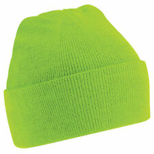 Mens Womens Super Soft Wooly Winter Knitted Hat Cap - Brand New
