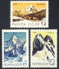 Russia 1964 Mountains/Nature/Climbing/Sport 3v (n29127)