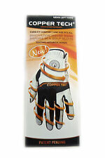 NEW Copper Tech White/Black Men's One Size Fits All Golf Glove