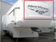 NEW VISION SPORTSTER DECAL KZ RV  LEGEND STRIPES LOGO GRAPHICS 5TH WHEEL TRAILER