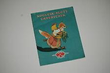 Tołstoj Kogucik Złoty grzebyczek rosyjska bajka ludowa Polish book for children