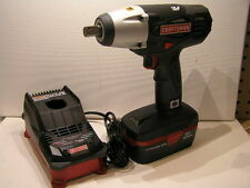 """Craftsman 19.2V Cordless 1/2"""" Impact Wrench Kit w Lithium HC Battery & Charger"""