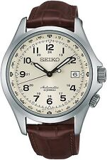 SEIKO 5 SARG005 MECHANICAL AUTOMATIC ALPINIST Leather Watch Japan