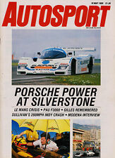 Autosport 18 May 1989 - Silverstone WSC Supersprint, Pau F3000, Indianapolis qua