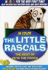 Little Rascals: The Best of Pete the Pooch (2009, REGION 1 DVD New)
