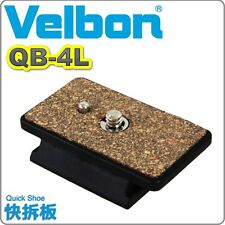 NEW BOXED GENUINE Velbon QB-4L Quick release Vel-flo 5 PH-248 CX-480 QB4l