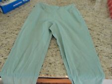 Tommy Hilfiger Capri Pants Womens Size 6 Green and White Striped