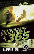 April by Gabrielle Lord (Paperback, 2010) conspiracy 365