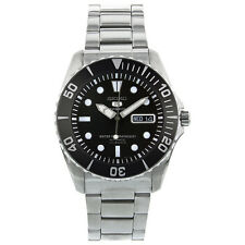 Seiko 5 Sport Automatic Black Dial Stainless Steel Men's Watch SNZF17 SNZF17K1