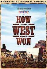 NEW--How the West Was Won (DVD, 1962, 3-Disc Set, Special Edition)
