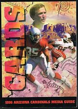 1996 Arizona Cardinals NFL Football Media GUIDE
