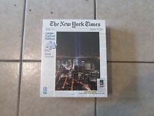 FX Schmid Jigsaw Puzzle-The New York Times-Twin Beams of Light- 300 Pcs.  (B 20)