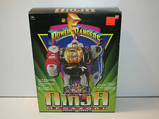MMPR POWER RANGERS - DELUXE NINJA MEGAZORD MIB - BANDAI 1995 SEALED CONTENTS