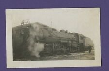 1948 Grand Trunk West GTW 2-8-2 Steam Locomotive #3712 - VTG B&W Railroad Photo